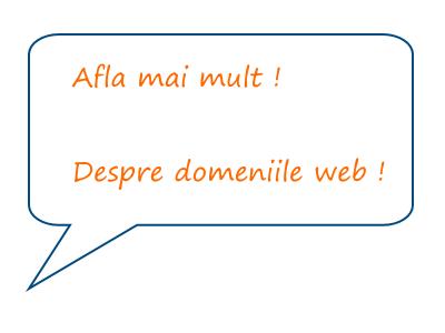 Cum ne alegem un domeniu web potrivit ?
